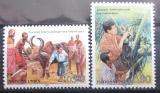 Poštovní známky OSN Ženeva 1988 Rok rozvoje Mi# 167-68