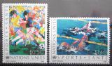 Poštovní známky OSN Ženeva 1988 Sport Mi# 169-70