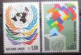 Poštovní známky OSN Ženeva 1991 Symboly Mi# 200-01