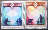 Poštovní známky OSN Ženeva 1994 Mezinárodní rok rodiny Mi# 243-44