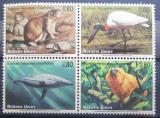 Poštovní známky OSN Ženeva 1994 Ohrožené druhy Mi# 245-48