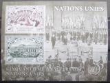 Poštovní známky OSN Ženeva 1995 Výročí OSN Mi# Block 7