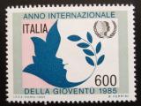 Poštovní známka Itálie 1985 Rok mládeže Mi# 1939