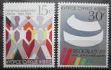 Poštovní známky Kypr 1989 Výročí a události Mi# 720-21