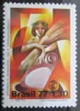 Poštovní známka Brazílie 1977 Diplomacie Mi# 1641