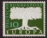 Poštovní známka Německo 1957 Evropa CEPT Mi# 268