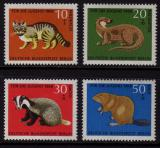 Poštovní známky Západní Berlín 1968 Fauna Mi# 316-19