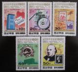 Poštovní známky KLDR 1989 Výstava LONDON Mi# 3045-49