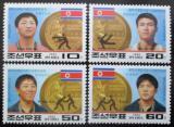 Poštovní známky KLDR 1992 LOH Barcelona Mi# 3367-70