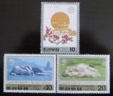 Poštovní známky KLDR 1997 Kimovy narozeniny Mi# 3920-22