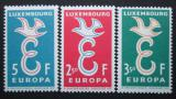 Poštovní známky Lucembursko 1958 Evropa CEPT Mi# 590-92