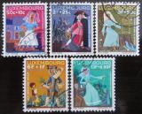 Poštovní známky Lucembursko 1966 Pohádky Mi# 740,742-45