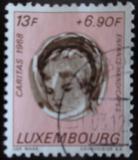 Poštovní známka Lucembursko 1968 Mentálně postižené dítě Mi# 784
