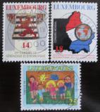 Poštovní známky Lucembursko 1994 Výročí Mi# 1342-44