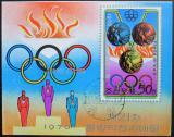 Poštovní známka KLDR 1976 Olympijské medaile Mi# Block 27
