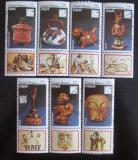 Poštovní známky Guinea-Bissau 1989 Artefakty Mi# 1065-71