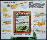 Poštovní známka KLDR 1980 Letadla Mi# Block 85