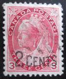Poštovní známka Kanada 1897 Královna Victoria přetisk Mi# 76
