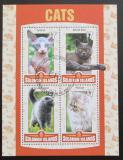 Poštovní známky Šalamounovy ostrovy 2016 Domácí kočky Mi# N/N