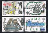 Poštovní známky Nizozemí 1996 Objevitelské cesty Mi# 1592-95