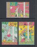 Poštovní známky Nizozemí 1994 Ilustrace Mi# 1525-27