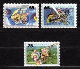 Poštovní známky Nizozemí 1991 Ochrana životního prostředí Mi# 1396-98