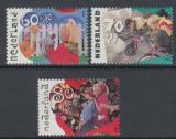 Poštovní známky Nizozemí 1991 Prázdniny Mi# 1423-25