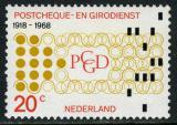 Poštovní známka Nizozemí 1968 Pošta Mi# 893