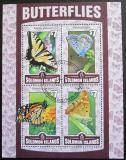 Poštovní známky Šalamounovy ostrovy 2016 Motýli Mi# N/N