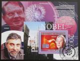 Poštovní známka Komory 2009 Nobelova cena Mi# Bl 496 Kat 15€