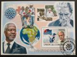 Poštovní známka Komory 2009 Nobelova cena Mi# Block 468 Kat 15€