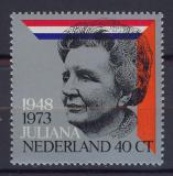 Poštovní známka Nizozemí 1973 Královna Juliana Mi# 1017