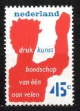 Poštovní známka Nizozemí 1976 Spolek tiskařů Mi# 1081