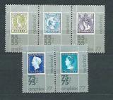 Poštovní známky Nizozemí 1976 Výstava AMPHILEX Mi# 1083-87