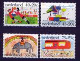 Poštovní známky Nizozemí 1976 Dětské kresby Mi# 1088-91