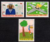 Poštovní známky Nizozemí 1987 Děti a zaměstnání Mi# 1328-30