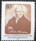 Poštovní známka Německo 1988 Arthur Schopenhauer, filozof Mi# 1357