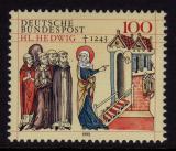 Poštovní známka Německo 1993 Svatá Hedvika Mi# 1701