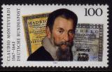 Poštovní známka Německo 1993 Claudio Monteverdi, skladatel Mi# 1705