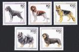 Poštovní známky Německo 1995 Psi Mi# 1797-1801
