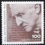 Poštovní známka Německo 1996 Anton Bruckner, skladatel Mi# 1888