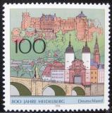 Poštovní známka Německo 1996 Heidelberg, 800. výročí Mi# 1868