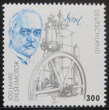 Poštovní známka Německo 1997 Rudolf Diesel Mi# 1942