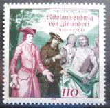 Poštovní známka Německo 2000 Graf von Zinzendorf Mi# 2115