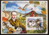 Poštovní známka Komory 2009 Dinosauři Mi# Block 452 Kat 15€