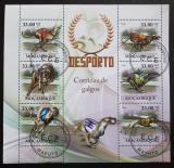 Poštovní známky Mosambik 2010 Psí závody Mi# 3779-84