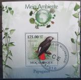 Poštovní známka Mosambik 2010 Papoušek Mi# Block 295