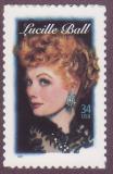 Poštovní známka USA 2001 Lucille Ball, herečka Mi# 3477