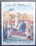 Poštovní známka Maroko 1964 Umění, Delacroix Mi# 530