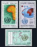 Poštovní známky Maroko 1964 Světový den meteorologie Mi# 531-33